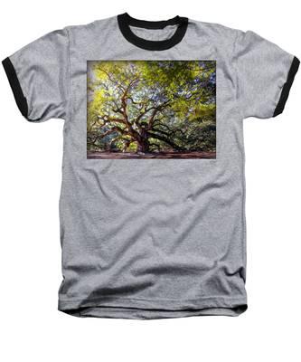Angel Of Time Baseball T-Shirt