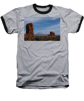 Arches National Monument Baseball T-Shirt