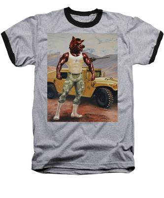 Arkansas Soldier Baseball T-Shirt