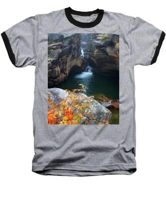 Autumn At The Grotto Baseball T-Shirt