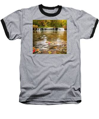 Autumn At Valley Creek Baseball T-Shirt