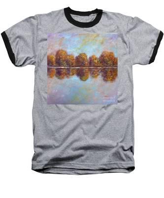 Autumnal Atmosphere Baseball T-Shirt