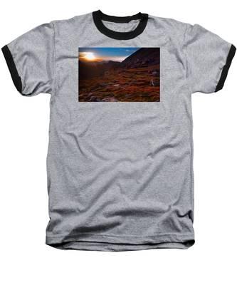 Bathing In Last Light Baseball T-Shirt