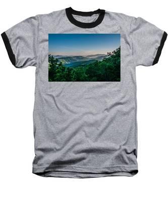 Beautiful Scenery From Crowders Mountain In North Carolina Baseball T-Shirt