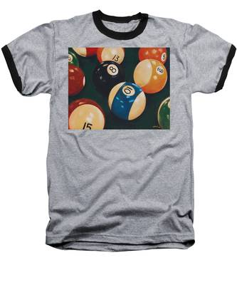Billiards Baseball T-Shirt