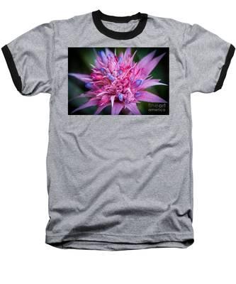 Blooming Bromeliad Baseball T-Shirt