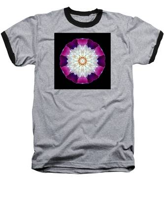 Bowl Of Beauty Peony II Flower Mandala Baseball T-Shirt