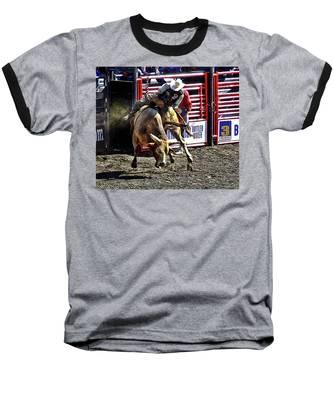 Buckin Bull Baseball T-Shirt