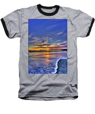 Cayucos Sunset Baseball T-Shirt