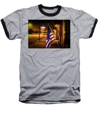 Coca-cola And America Baseball T-Shirt