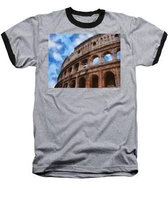 Colosseo Baseball T-Shirt