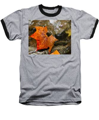 Coming Up For Air Baseball T-Shirt by Andrea Platt