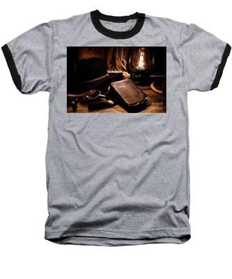 Cowboy Bible Baseball T-Shirt