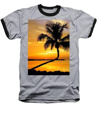 Crooked Palm Baseball T-Shirt