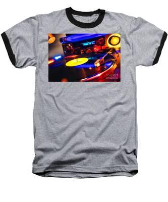 Dj 's Delight Baseball T-Shirt