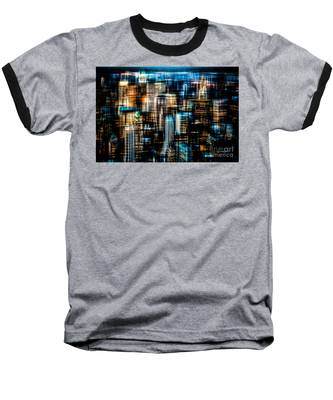 Downtown II - Dark Baseball T-Shirt