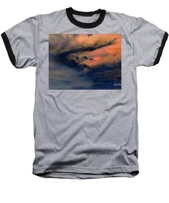 Fire In The Hills Baseball T-Shirt