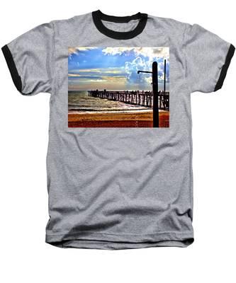 Flagler Pier Heaven Baseball T-Shirt