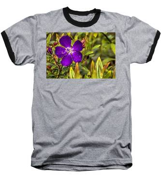 Flowers Love Water Baseball T-Shirt