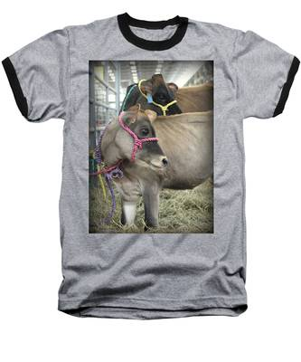 Baseball T-Shirt featuring the photograph Following Mom's Lead by Andrea Platt