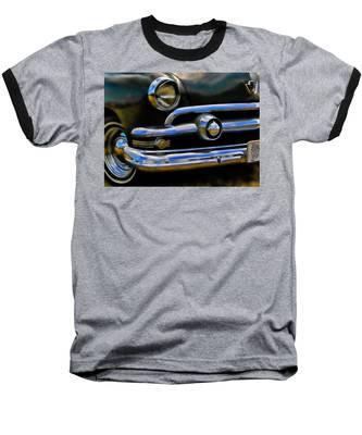 Ford Hot Rod Baseball T-Shirt