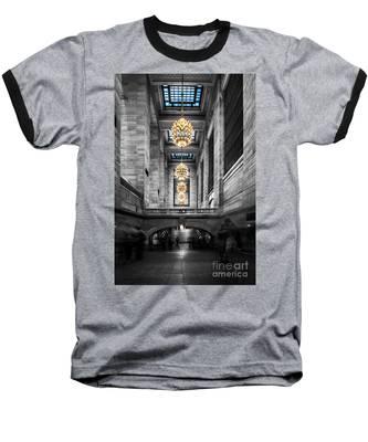 Grand Central Station IIi Ck Baseball T-Shirt