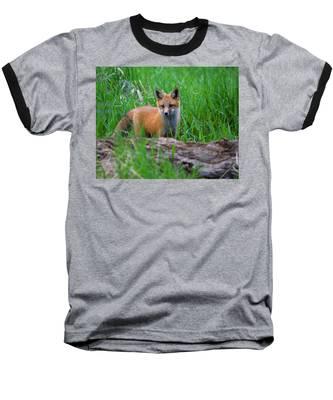 Green As Grass Baseball T-Shirt