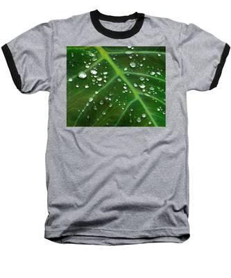 Hanging Droplets Baseball T-Shirt