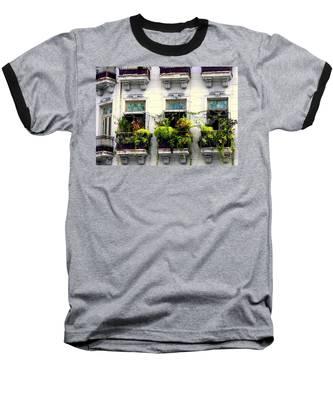 Havana Windows Baseball T-Shirt