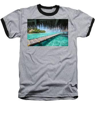 Heavenly View Baseball T-Shirt