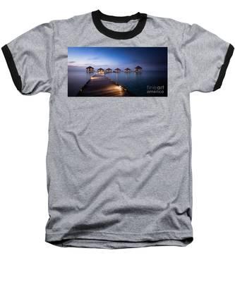 Honeymooners Paradise Baseball T-Shirt