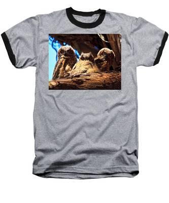 Hoo Are You Baseball T-Shirt