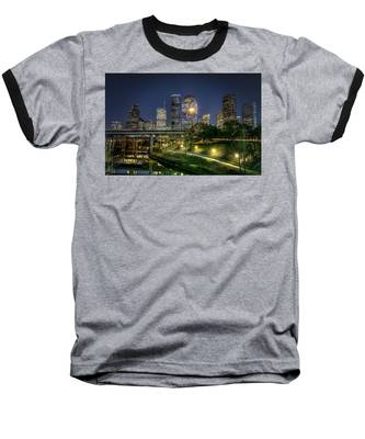 Houston On The Bayou Baseball T-Shirt
