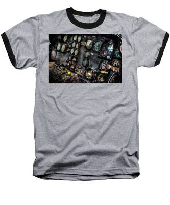 Huey Instrument Panel 2 Baseball T-Shirt