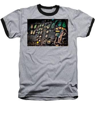 Huey Instrument Panel Baseball T-Shirt