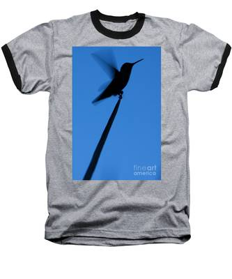 Hummingbird Silhouette Baseball T-Shirt