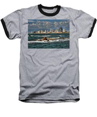 Israel Full Power Baseball T-Shirt