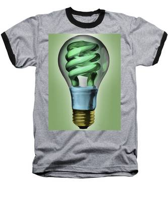 Light Bulb Baseball T-Shirt
