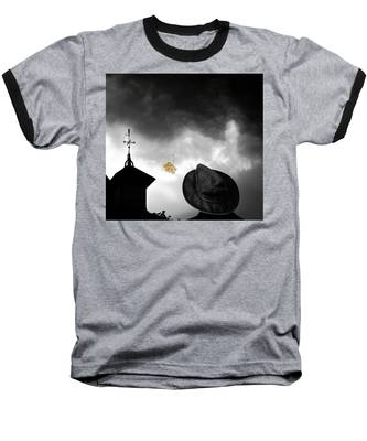 Light In The Window Baseball T-Shirt