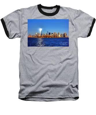 Lighthouse Manhattan Baseball T-Shirt