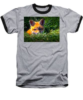 Little Red Fox Baseball T-Shirt