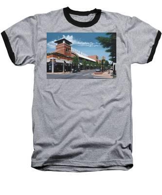 Little Rock River Market Baseball T-Shirt