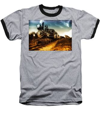 Locomotive Number 4 Baseball T-Shirt