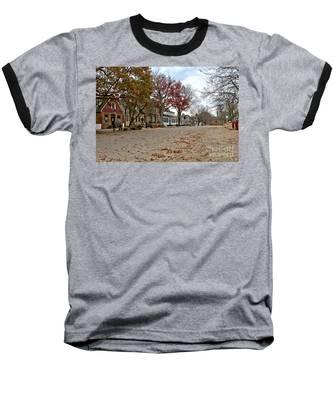 Lonely Colonial Williamsburg Baseball T-Shirt