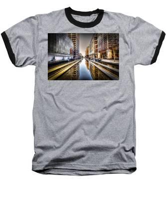 Main Street Square Baseball T-Shirt