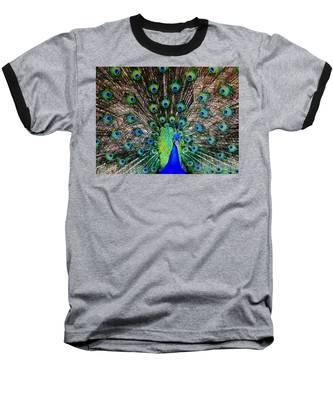 Majestic Blue Baseball T-Shirt