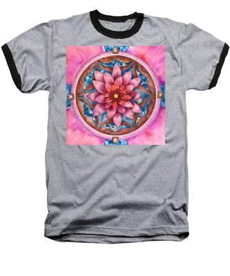 Mandala Of Health Baseball T-Shirt
