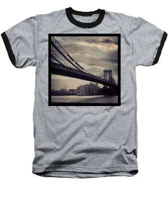 Manhattan Bridge In Ny Baseball T-Shirt