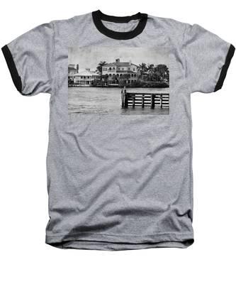 Matanzas Pass - Fort Myers Beach - Florida Baseball T-Shirt