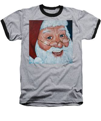 Merry Santa Baseball T-Shirt
